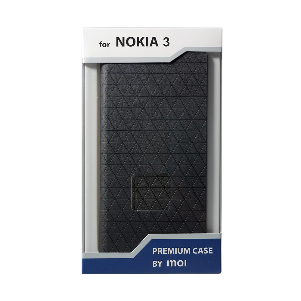 Mobile Phone Bags & Cases INOI Premium wallet case for Nokia 3, PU