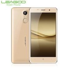 Leagoo m5 16 gb + 2 gb android 6.0 mobile téléphone 5 pouce mtk6580 1.3 ghz quad core smartphone double sim d'empreintes digitales gps anti-choc 3g