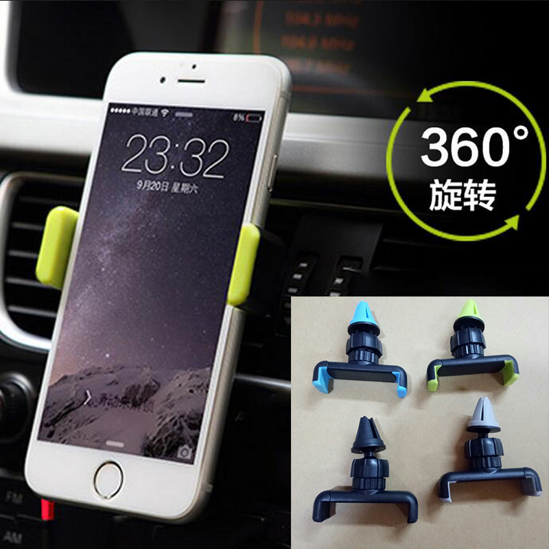 Universal Car Phone Holder Mount 360 Degree Rotation Phone Holder For iPhone huawei xiaomi Samsung Stand Mobile Phone Holder