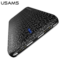 USAMS Mosaic Series 5000 10000mAh Mobile Power Bank For Mobile Phone Tablet Dual USB Poverbank For