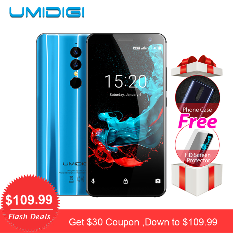 Umidigi A1 Pro Global Version Smartphone 5 5 Full Screen Dual 4G Android 8 1 3GB