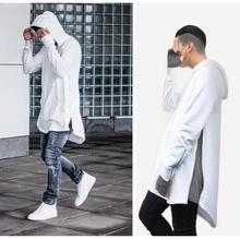 Britischen stil männer hiphop streetwear hoodies reißverschluss longbow sportbekleidung temporada 1 2 3 mit kapuze tyga kanye west clothing