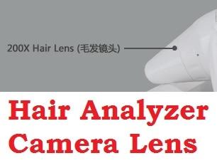 dhl navio livre novo 5 0 m pixels de alta resolucao hairscope cabelo analise analisador de