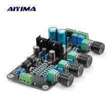 Aiyima トーンボード 2604 AD827 発熱アンププリアンプボリュームコントロールアンププリアンプチューニングボード AC デュアル 15 20 ボルト