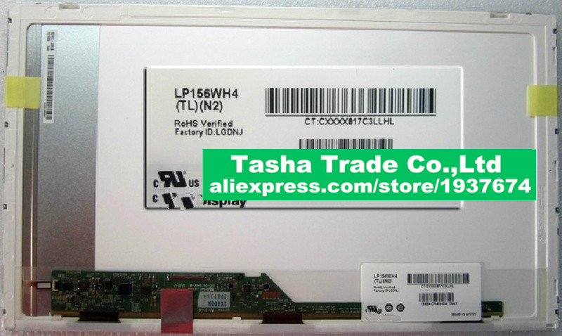 LP156WH4-TLN2 LP156WH4 TLN2 Screen LCD Display Panel 1366*768 40pins New Original вытяжка козырьковая hansa osc6111bh коричневый
