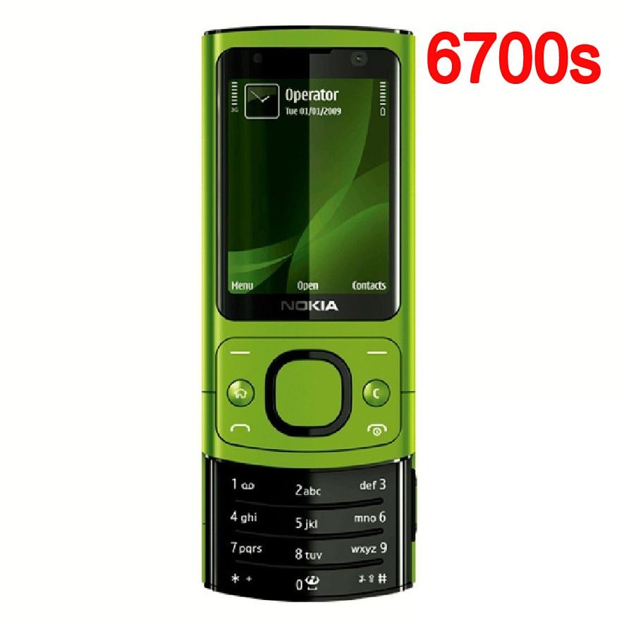 Original NOKIA 6700 Silder Phone Refurbished 3G GSM ...
