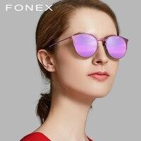 Round Sunglasses Men Ultralight 2018 Fashion Ladies Brand Designer Vintage Female Driving Sun Glasses for Women Titanium Alloy