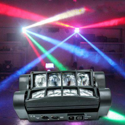 Moving Head Light Mini LED Spider 8x6W RGBW Beam Light Good Quality Fast Shipping