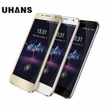 "Uhans a101s 5,0 ""hd quad core 3g smartphone 2g ram 16g rom mtk6580 android 6.0 8.0mp cam dual-sim-karten handy"