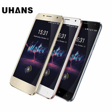"""UHANS A101S 5.5"""" HD Quad Core 3G Smartphone 2G RAM 16G ROM MTK6580 Android 6.0 8.0MP CAM Dual SIM Cards Mobile Phone"""