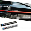 Я М Производительность Автоспорте Металлический Логотип Автомобиля Стикер Алюминий Эмблема Гриль Знак для BMW Этикета m3 m5 X1 X5 X6 E36 E39 E46 E30 E60