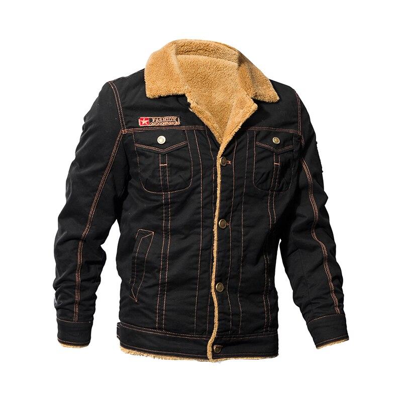 Winter Jacket Men Chaqueta Hombre Casual Man's Coat Thick Fur Warm Jacket for Man New Parka Coat Military Jacket Fashion Clothes