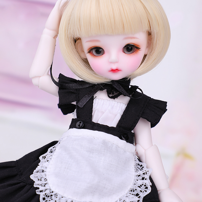 Full Set 16 BJD Doll LOVELY Lina Resin Joint Doll With Glasss Eyes For Baby Girl Birthday Christmas Gift
