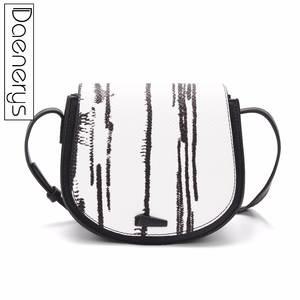 285000f7e0 Daenerys Brand Handbags For Womens Female Designer Clutch Ladies Small Purse  Shoulder Bag Saddle Crossbody Bags Black