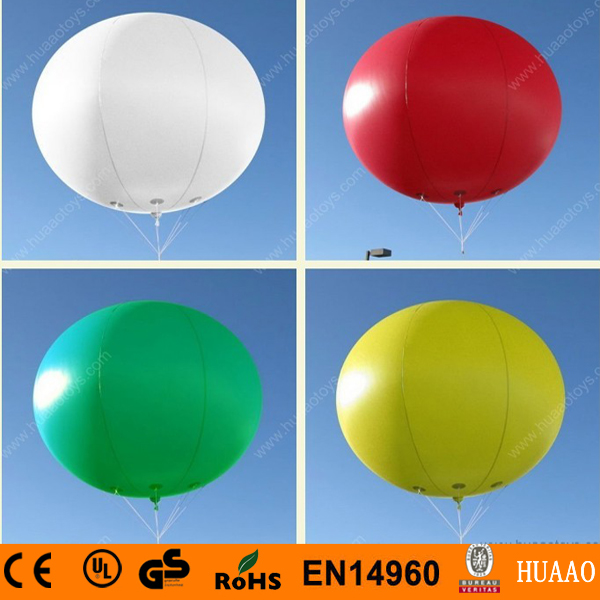 Free shipping 2m/6.5ft PVC inflatable balloon sky balloon helium balloon for advertising events inflatable square advertising helium balloon