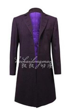 Doctor Who 12th Dr Dark Blue Frock Coat Vest Set Costume /<Custom Made/> Suit :