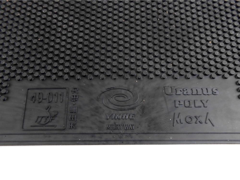Original Yinhe / Milky Way / Galaxy Uranus Poly Short Pips-out Table Tennis / Pingpong Top Sheet (rubber Without Sponge)