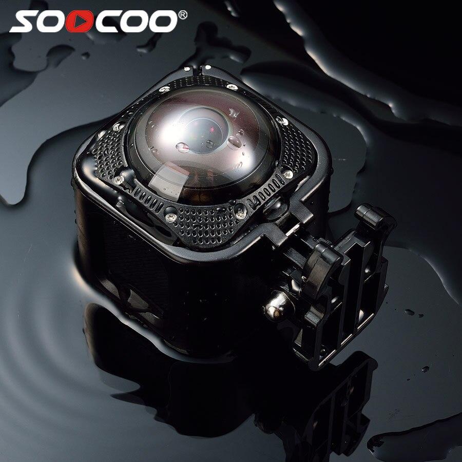 все цены на Original SOOCOO CUBE360F 1080P WiFi 360 Degree Panorama Camera Action cam 20M underwater waterproof онлайн