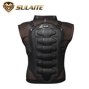 Image 2 - Moto armadura proteção corporal para motociclista, equipamento de proteção para o corpo, armadura protetora de coluna, peito, para senhoras e homens