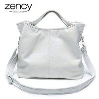 Zency/оптовая продажа, модная женская сумка, 100% натуральная кожа, Женская Повседневная сумка, Очаровательная сумка на плечо, Классическая Дамс...