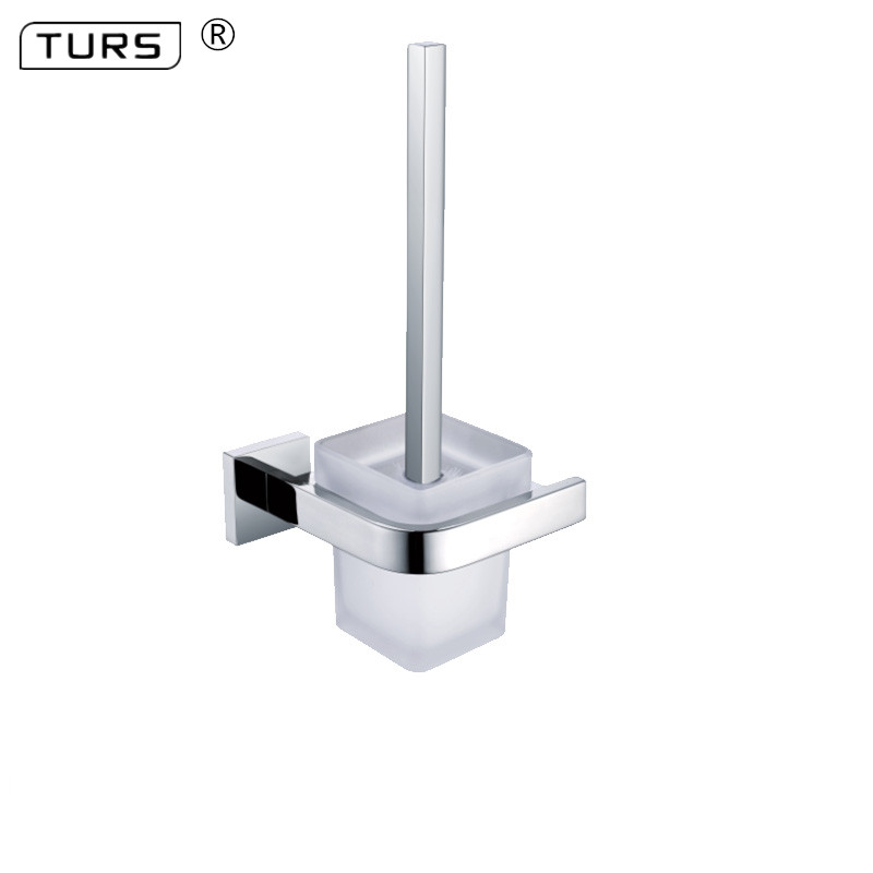 SUS 304 Stainless Steel Toilet Brush Holders Bathroom Mirror Polished Effect Toilet Brush Cup Holder Rack Bathroom Brush Shelf mirror polished round bottom stainless steel toilet brush cup holder
