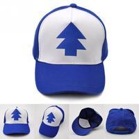 1PC Baseball Hat Gravity Falls cap Adjustable Trucker Caps New Curved Bill Dipper Parent-child Baseball Hat girl