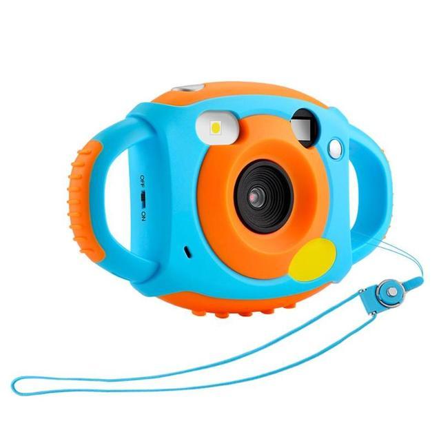 "1080P 5MP Cartoon 1.77"" Mini LCD Camera HD 500W Digital Camera For Kids Fresh Camcorders For Children Funny Automatic Camera"