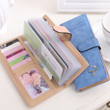 leather wallet business id credit card holder