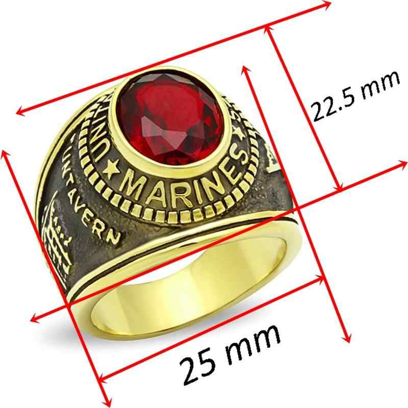 תכשיטי אופנה טבעת נירוסטה הגעה חדשה לגברים גודל מלא טבעות ימי בסגנון אירופה משלוח חינם
