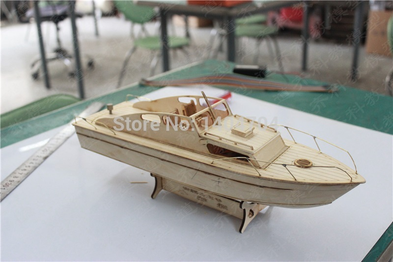 NIDALE model Free shipping laser cut yacht wood puzzle European Classic excursion boat model Assemble Rivas