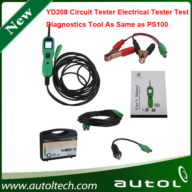 ФОТО 100% Original Autek PowerScan YD208 Electrical System Diagnostic Tool Update Online DHL Free Shipping