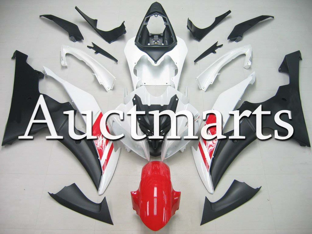 For Yamaha YZFR6 08-14 2009 2010 2011 2012 YZF 600 R6 2008 2013 2014 YZF600R 08-14 inject ABS Plastic motorcycle Fairing Kit 30 unpainted abs plastic front fender fit for yamaha 2008 2012 yzf r6 injection mould motorcycle fairing frame cover part