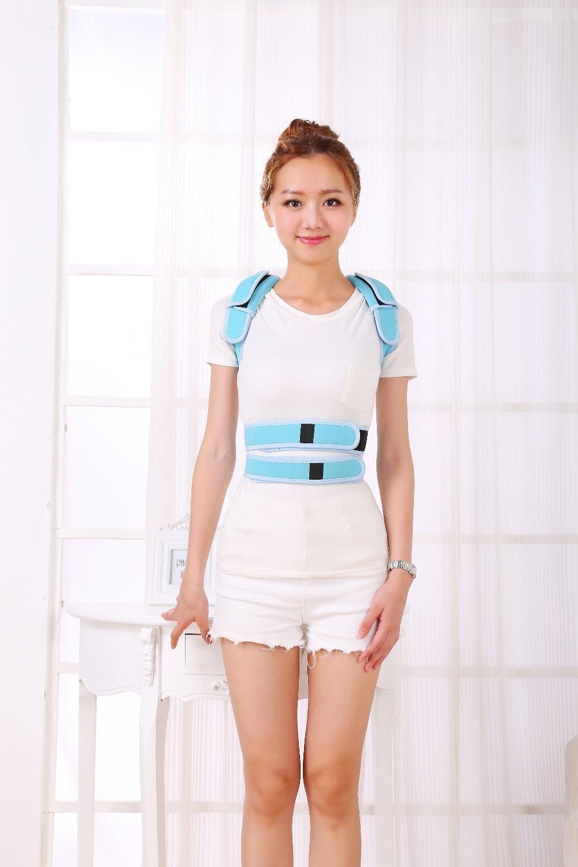Women / man Adjustable Back Belt Posture Corrector Brace Support Posture Shoulder Corrector for Health Care
