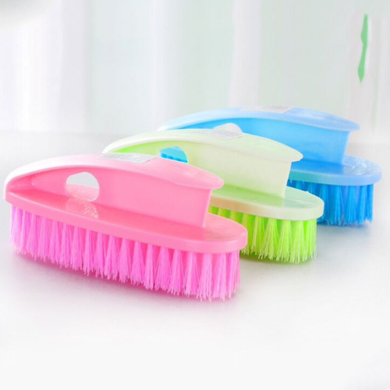 Cleaning Tools Cleaning Washing Brushes Flexible Scrub Hand-held 1 Pc Plastic multi-functional Bathroom Accessories