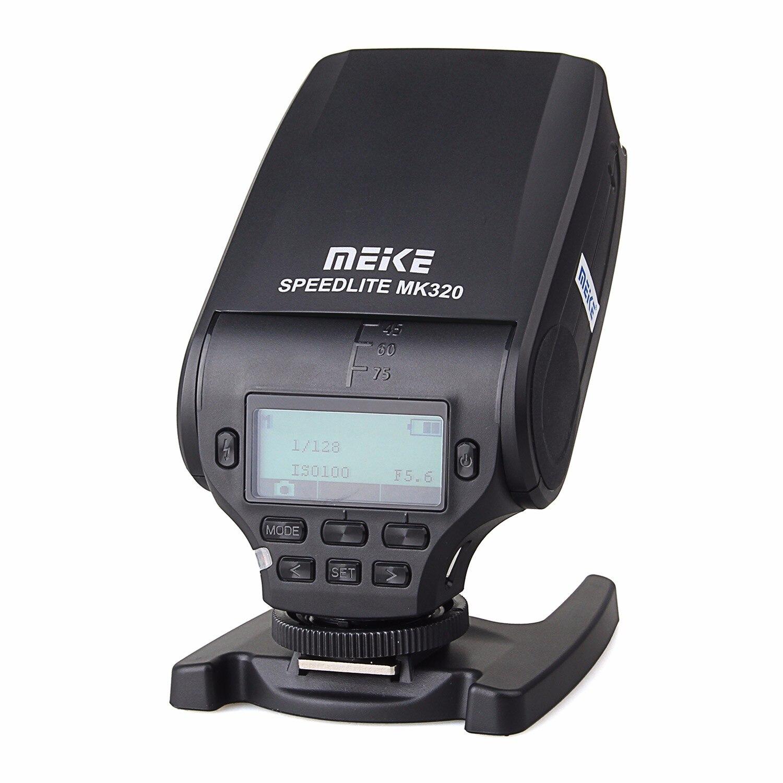 MEIKE MK-320 TTL flash Speedlite pour Sony A7 A7R A7S A7 II A77 II A6000 NEX-6 A58 A99 RX1 RX1R RX10 RX100 II RX100 III