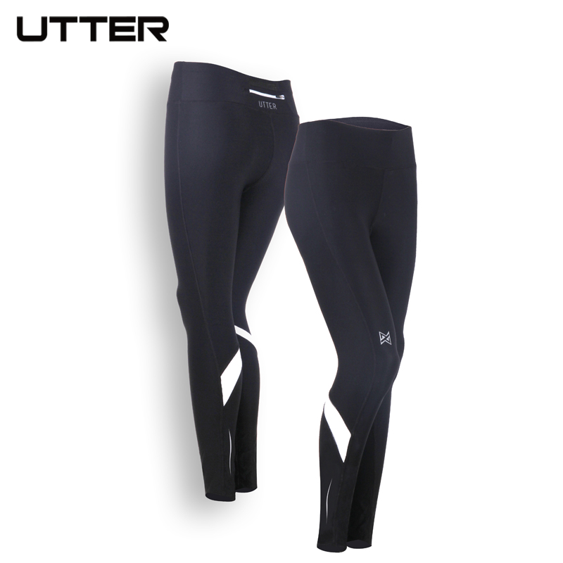 UTTER Womens Sport Long Tights Tactical Cargo Running Compression Pants Sport Yoga Fitness Leggings J7 J8 J9 ...