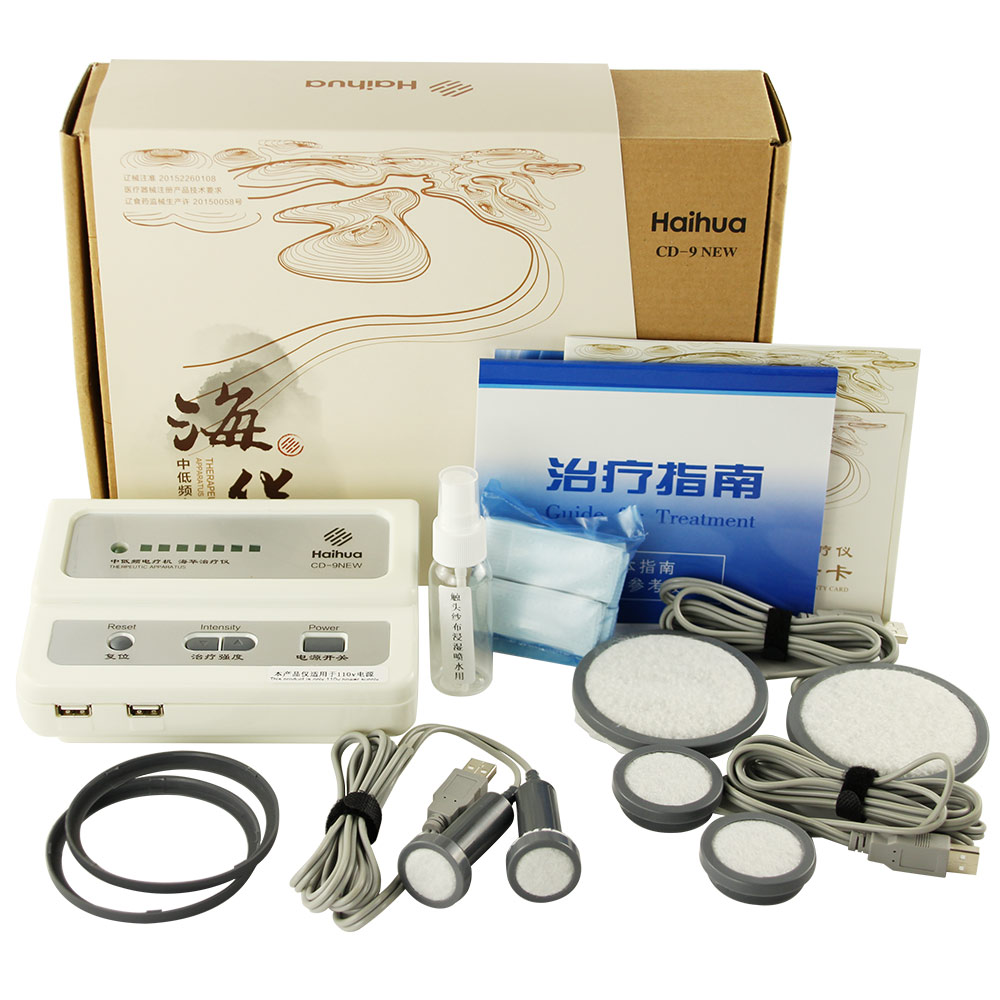New Upgrade Haihua CD-9 Serial QuickResult Therapeutic Apparatus Electrical Stimulation Acupuncture Therapy Device 110V 220V(China)