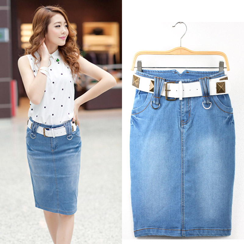 Compare Prices on Long Jean Skirts- Online Shopping/Buy Low Price ...