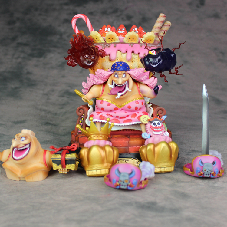 Anime One Piece Four Emperors BIG MOM gk resin figure toy Doll Brinquedos Figurals Collection OP Model Gift new anime one piece kaido four emperors edward newgate white beard big mom 24cm pvc action figure model doll toys in boxed