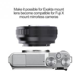 Image 3 - EXA FX ידני התמקדות מתאם טבעת EXA הר עדשה עבור Exakta עדשת עבור Fuji X הר מצלמות ראי באיכות גבוהה