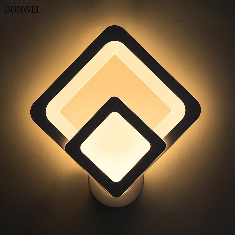 moderna lampada de parede led lampada cabeceira casa 220 v 17 w conduziu a luz da
