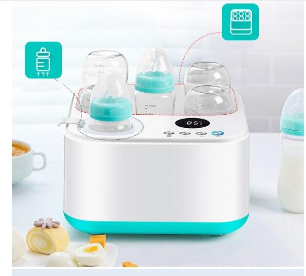 AnpassungsfäHig Konstante Warme Milch Gerät Baby Flasche Desinfektion Hilfs Lebensmittel/gedämpfte Eier 100d Dampf Spielzeug 24 H Konstante Temperatur Elegant Und Anmutig Haushaltsgeräte