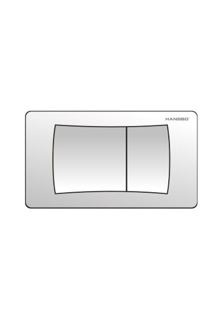 Flush Button With Concealed Cistern Hidden In Wall Tank  For Wall Mounted Toilet 8603