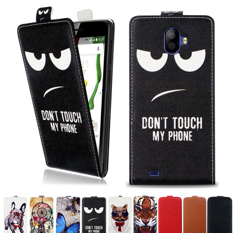 Cellphones & Telecommunications Creative Fashion Pu Leather Flip Print Wallet Case For Texet Tm-5074 Case Cover Book Case 5.0 Ultra-thin Phone Cover For Texet Tm-5074 Phone Bags & Cases