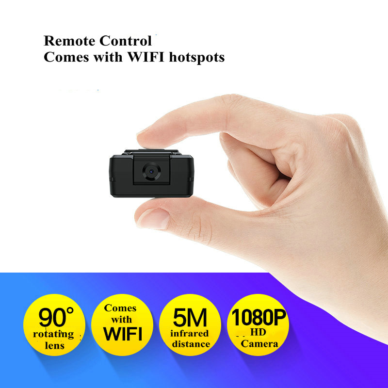 Image 3 - Mini WiFi Camera HD 1080P Sensor Night Vision Camcorder Motion DVR Micro Camera Sport DV Video Wireless Small Camera Clip camMini Camcorders   -