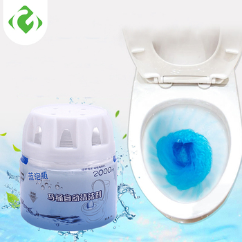1 butelka Środek czyszczący do WC magia automatyczne Flush Środek czyszczący do WC pomocnik niebieski do czyszczenia bąbelków odświeża łazienka toaleta do czyszczenia tanie i dobre opinie 80 ml Tablet 1 pc