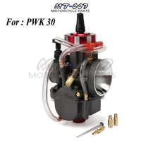 4T Engine universal Carburetor For Keihin PWK 30mm pwk30 Modify Off Road Motorcycle Scooter UTV ATV With Power Jets