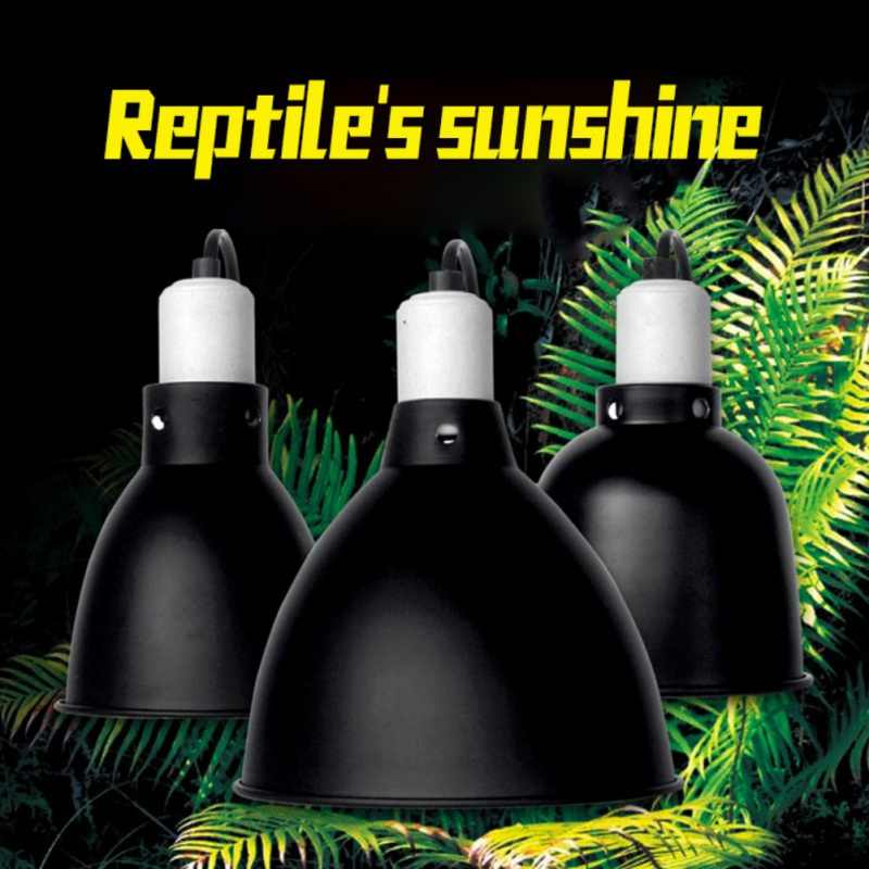 5.5 Inch Reptile Lampshade Explosion-proof Aquarium Fish Tank Heating Lamp Holder Dome Durable Reptile Safe