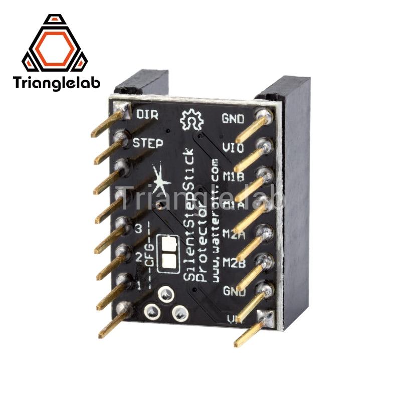 Trianglelab TL-unidade de eliminação de ondulação suave protector protetor de acionamento do motor de Passo para TMC2208 2100 2300 8729 4988