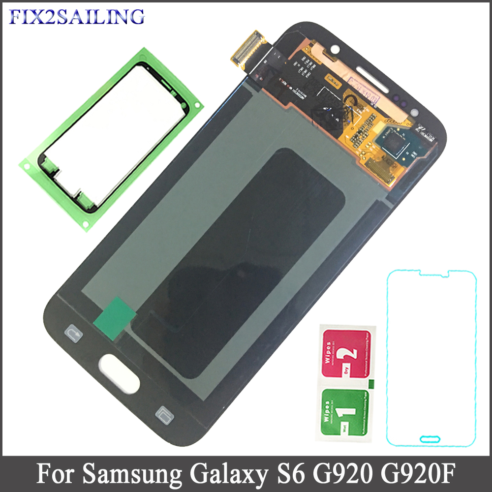 Super AMOLED LCD For Samsung GALAXY S6 G920 G920F LCD Display Touch Screen Digitizer AssemblySuper AMOLED LCD For Samsung GALAXY S6 G920 G920F LCD Display Touch Screen Digitizer Assembly
